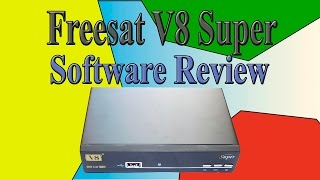 Freesat v8 super Software review  ( v8 golden, openbox v8 super ) Обзор