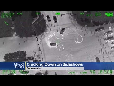 Sacramento Police Cracking Down On Illegal Sideshows