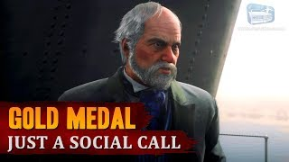 Red Dead Redemption 2 - Mission #73 - Just a Social Call [Gold Medal]