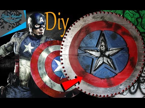Captain America shield-Diy  (Viking addition)