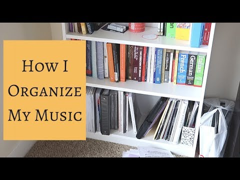 How I Organize My Music