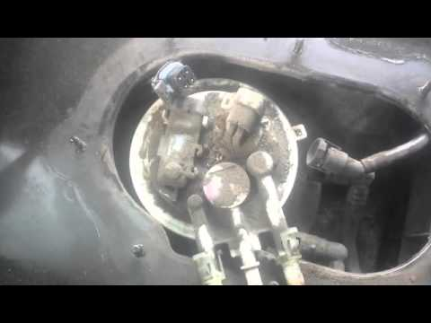 Changing fuel pump Monte carlo - YouTube