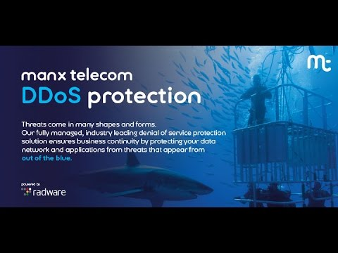 Manx Telecom DDoS Protection powered by Radware