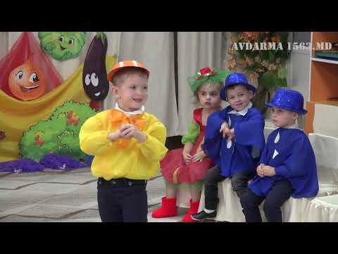 В детском саду Авдармы стартовала пора осенних утренников