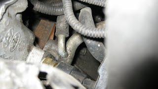 Расположение номера двигателя на kia spectra