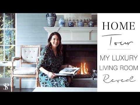 MY LUXURY LIVING ROOM REVEAL - INTERIOR DESIGNER HOME TOUR  - Behind The Design - Episode 5