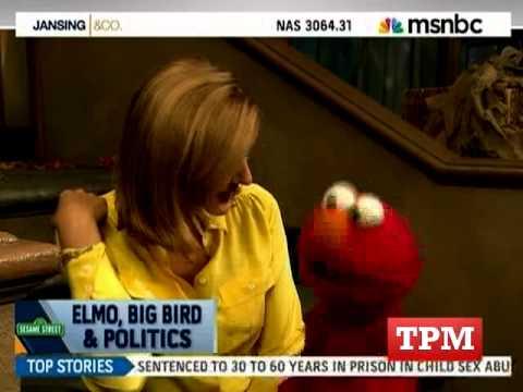 Chris Jansing Interviews Elmo
