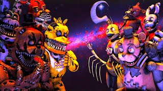 - FNAF SFM The Big Fight Five Nights at Freddy s Animations