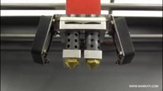 mankati 3d printer fullscale xt show appearance   desktop fdm 3d printer   ultimaker   makerbot