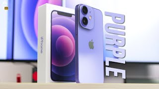 💜 PURPLE iPhone 12: Unboxing and ALL COLORS COMPARISON! [4K]