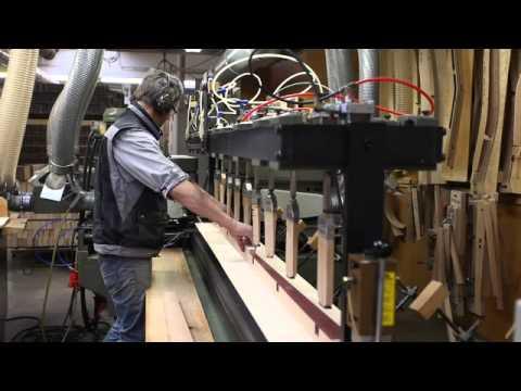 Stuhlfabrik Schnieder Produktion Stuhlbau Youtube