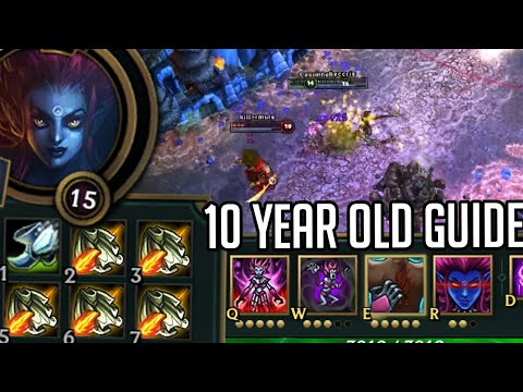 League of Legends but I follow a 10 year old Evelynn guide