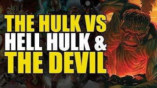 Immortal Hulk vs Red Hell Hulk & The Devil! (The Immortal Hulk Vol 3: Hulk In Hell)