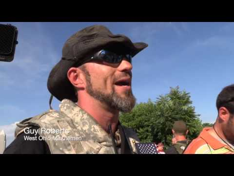 Ohio Minutemen open carry guns at the 2016 RNC