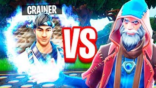 *NEW* PICK-A-PORTAL FOR LOOT CHALLENGE! - Crainer VS Runic - Fortnite Battle Royale
