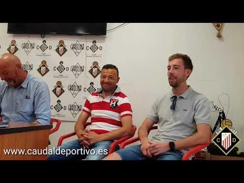 Caudal Deportivo presentación de Rober, Cabranes y Diego