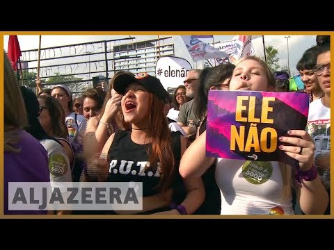 🇧🇷 Brazil: Thousands of women rally against far-right Bolsonaro | Al Jazeera English