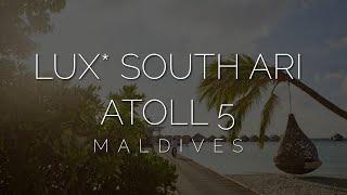 Лучший отель для Instagram фото на Мальдивах обзор LUX South Ari Atoll Resort 5 после карантина