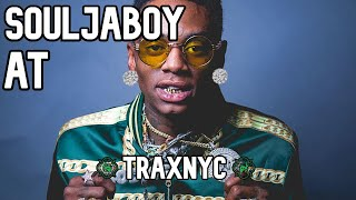 SOULJABOY Gets DIAMOND EARRINGS From TraxNYC