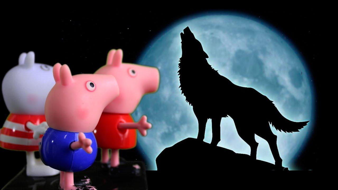 Peppa Pig e Pig George descobrem o Lobisomem  Peppa Pig