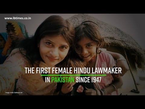 Krishna Kumari - The first female Hindu lawmaker in Pakistan since 1947