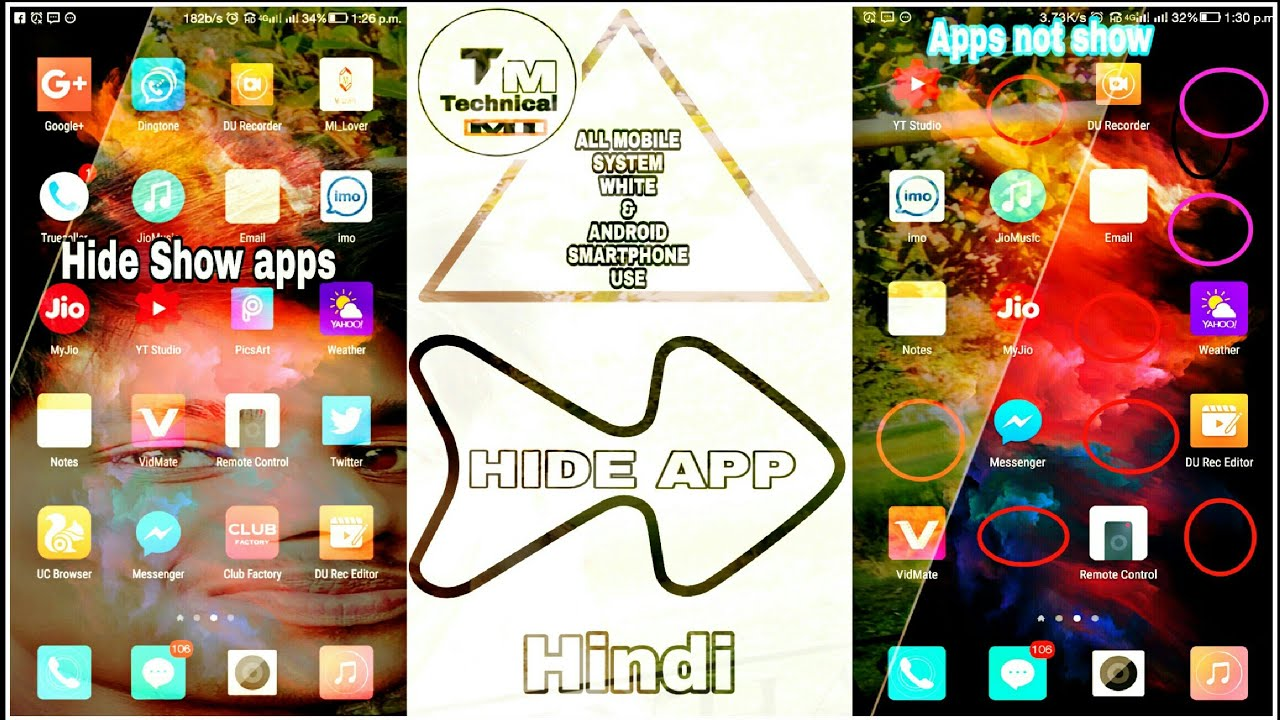How to coolpad cool 1 Apps hide on 🔥// with Android phone 🔥//  Hindi_(Technical-Mi)🔥 Technical Mi
