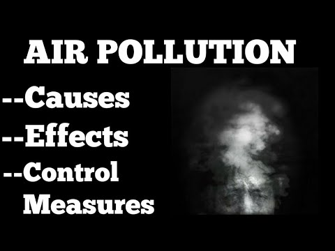 Air Pollution : Meaning , Causes , Effects and Control Measures