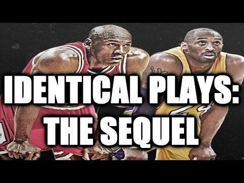 Kobe Bryant vs. Michael Jordan Identical Plays Part 2