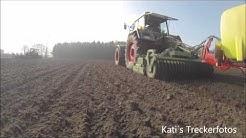 Fendt Favorit 615 LSA beim Kartofflenpflanzen & Fendt Vario 939 mit Horsch Tiger