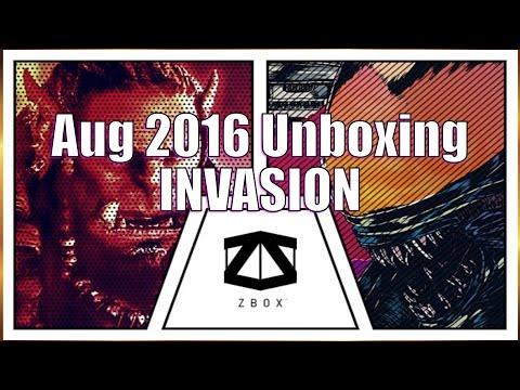 ZBox Aug 2016 Unboxing INVASION