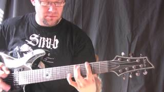 How To Write A Basic Heavy Metal Song From Scratch - Heavy Metal Lesson Number 4