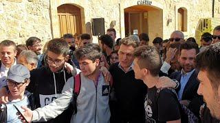 'Vamos De Cañas Con Albert Rivera' En Salamanca