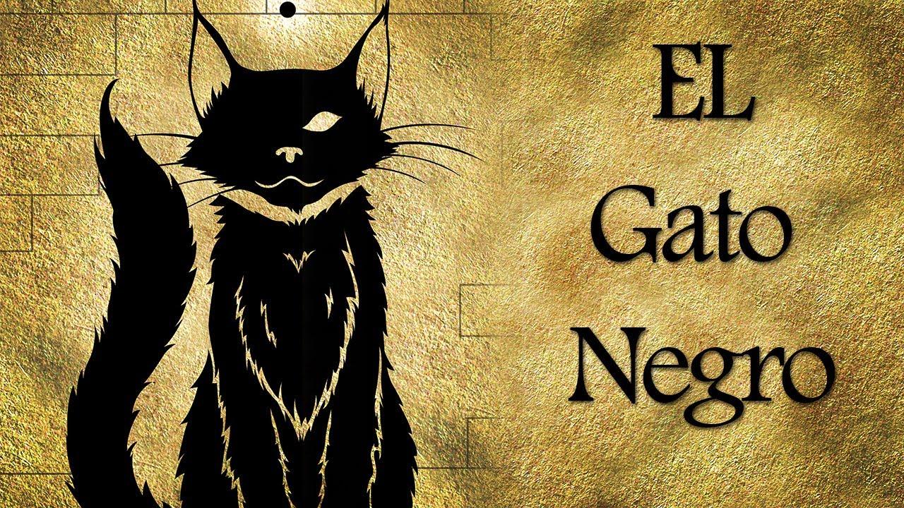 EL Gato Negro de Edgar Allan Poe (Audiocuento) - YouTube