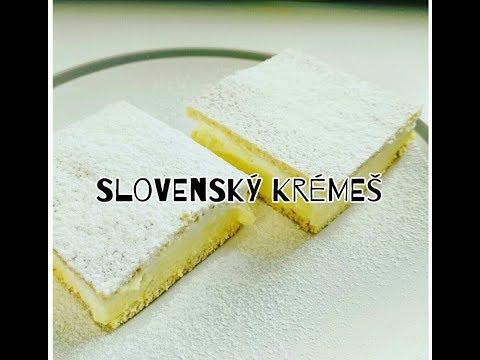 Slovenský Krémeš | Videorecept | CZ/SK HD recipe