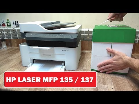 HP Laser MFP135 / MFP137 Обзор, отзывы. Прошивка