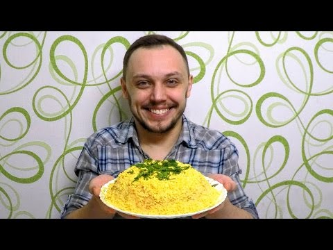 Рецепт Салат из крабовых палочек с кукурузой