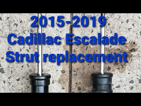 How to replace the front struts on 2015 – 2019 Cadillac Escalade
