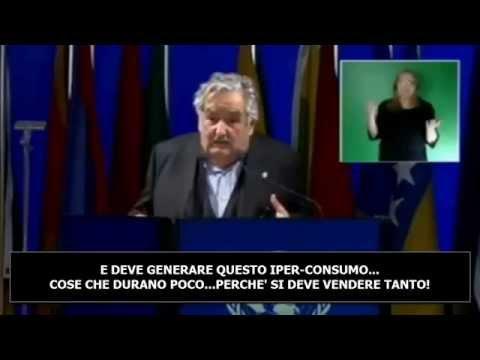 DISCORSO PRESIDENTE URUGUAY BEPE' MUJICA – NAZIONI UNITE – 2012 – SUB-ITA