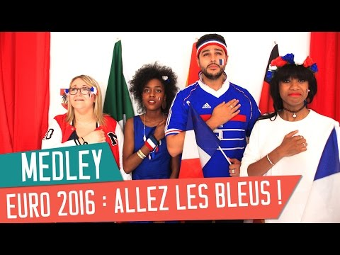 HYMNE EURO  : Nos Chansons Pour Les Bleus