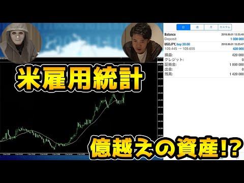 【FX】アメリカ雇用統計で億越えの資産を築く!【Raphael】