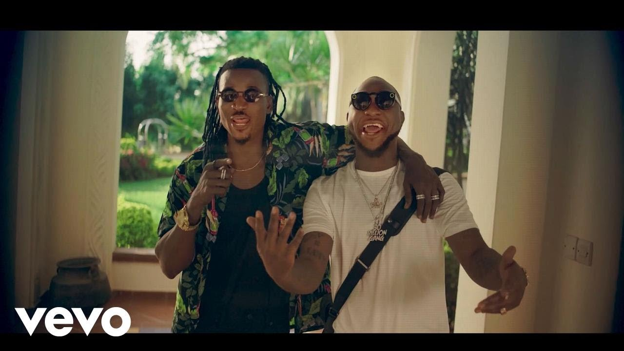 Download Ellyman - Cover Me (Official Video) ft. Davido