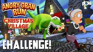 Angry Gran Run: Christmas Village Challenge!