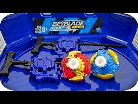 BEYBLADE MICROS BATTLE SET UNBOXING!! | Hasbro Beyblade Burst!