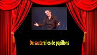 Karaoké Yves Montand  -  A bicyclette Video