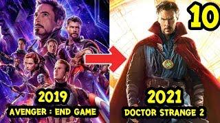 10 อันดับ หนัง Marvel หลังจากจบ Avengers: End game (เฟส 4)