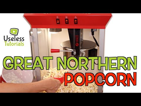 Great Northern Popcorn machine 8oz - Review & Test