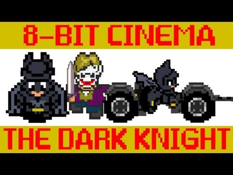 Batman The Dark Knight – 8 Bit Cinema!