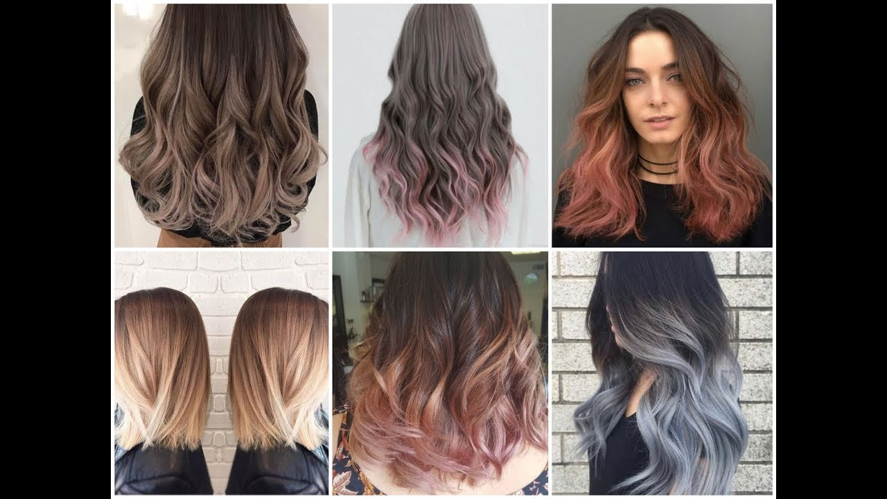 latest fall ombre hair color trends