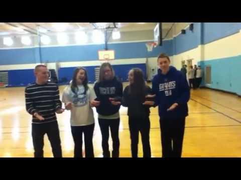 Chandler falls. Gym Project Sam, Jamie, Jess, Scott, Jess, Chandler