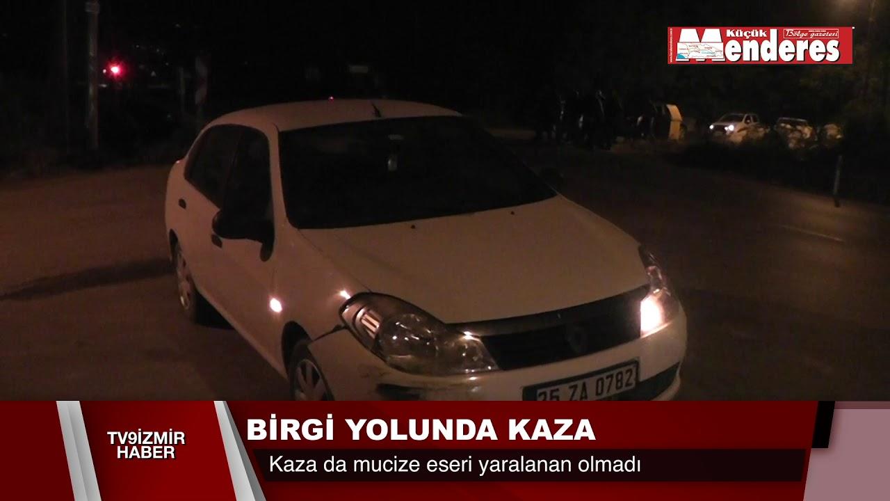 BİRGİ YOLUNDA KAZA